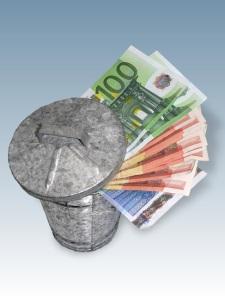 Verbrauchtes Leergut sammeln und Geld verdienen