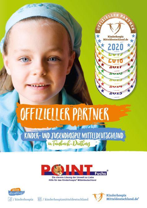 PointFuchs ist offizieller Partner des Kinder- und Jugendhospiz Mitteldeutschland